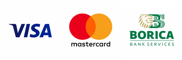 Payments with credit or debit cards